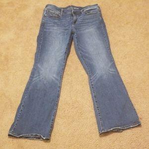 AE Jean's size 14 super stretch